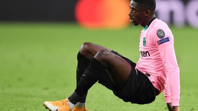 Un supporter du FC Barcelone invite Dembélé à jouer à FIFA