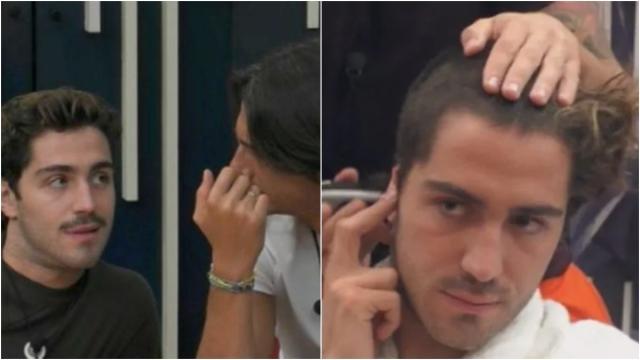 GF Vip, Zorzi litiga con Oppini e chiede ad Andrea di tagliargli i capelli a zero
