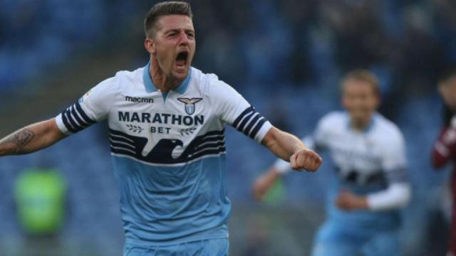 Lazio, Milinkovic-Savic sarebbe nel mirino del Manchester United