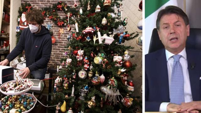 Dpcm dicembre: Giuseppe Conte annuncia misure ancora più restrittive