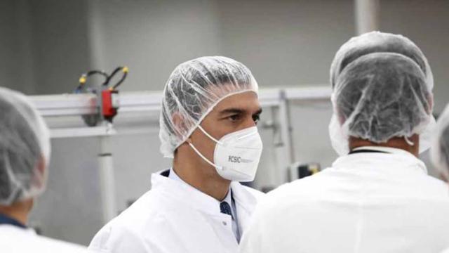 Pedro Sánchez, optimista por la próxima llegada de las vacunas