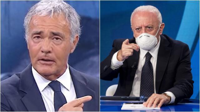 Non è l'Arena, Giletti invita De Luca: 'Venga qui, non ci insultiamo glielo prometto'