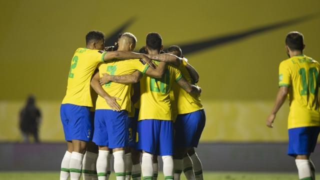 5 melhores seleções no ranking da Fifa