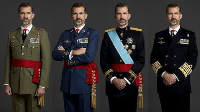 Militares retirados le escribieron una carta al rey Felipe VI