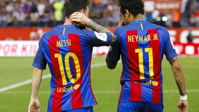 Neymar dit vouloir 'rejouer avec Messi', les fans du PSG sont pleins d'espoir