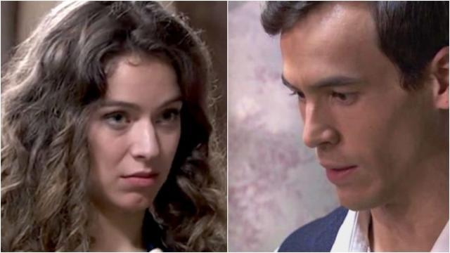 Una Vita, spoiler iberici: Genoveva si concede a Santiago e stringe un'alleanza con lui