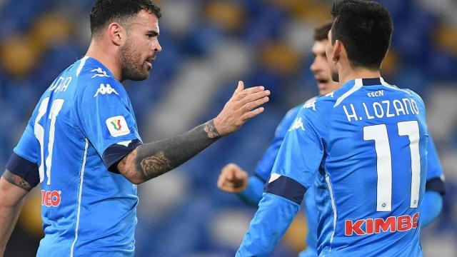 Napoli-Fiorentina 6-0: gli azzurri calano il poker, Insigne realizza una doppietta