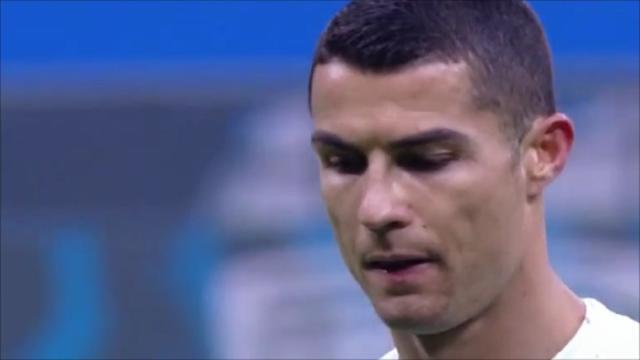 Inter-Juventus, Cristiano Ronaldo tra i peggiori in campo nella 'Caporetto bianconera'