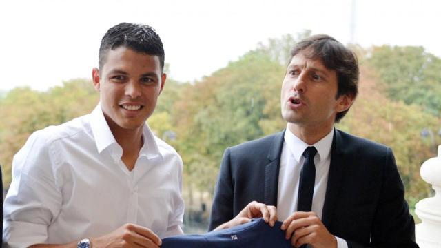 PSG : Leonardo dézingue Thiago Silva après ses propos