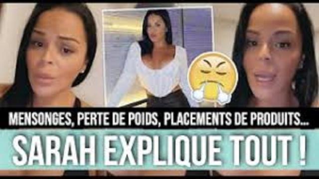 Sarah Fraisou met les choses au clair sur ses kilos perdus et répond aux haters