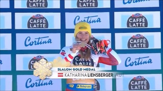 Mondiali di sci, slalom femminile: trionfa Katharina Liensberger