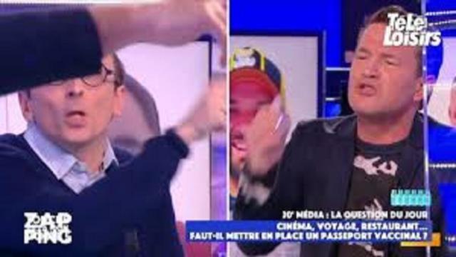 Benjamin Castaldi hurle sur Fabrice Di Vizio dans TPMP
