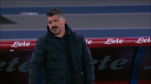 Napoli fuori dall'Europa League, Gattuso potrebbe rischiare la panchina