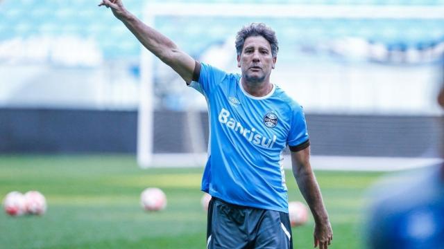 Grêmio estuda mudanças na equipe para final contra o Palmeiras