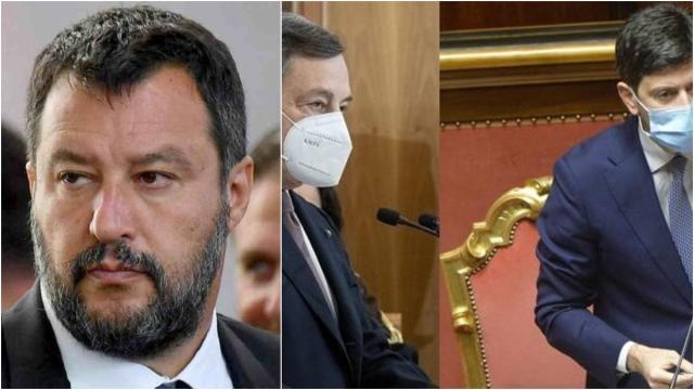 Covid-19, Dpcm Draghi valido fino al 6 aprile, Salvini: 'No a Pasqua chiusi in casa'
