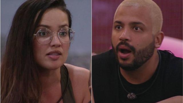 'BBB21': Projota se irrita com Juliette e discute com a sister