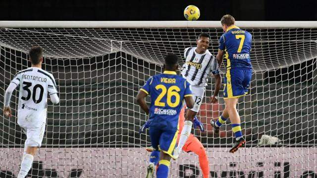 Serie A, Hellas Verona-Juventus finisce 1-1: al gol di Ronaldo risponde Barak