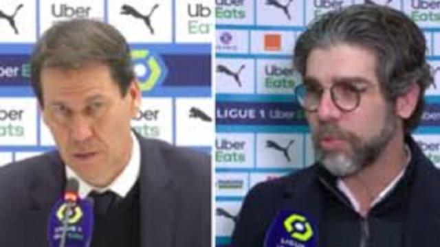 OM - OL : Juninho et Rudi Garcia critiquent l'arbitre de la rencontre
