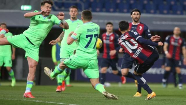 Bologna-Lazio termina 2-0: Mbaye e Sansone stendono i biancocelesti