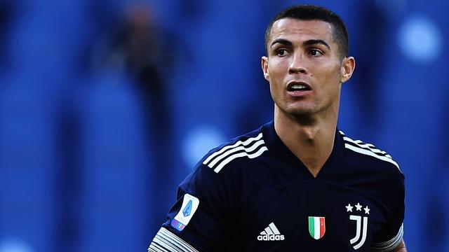 Juve, Cristiano Ronaldo non felice dopo il pareggio al Bentegodi contro l'Hellas Verona