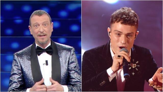 Sanremo, Amadeus: 'Irama potrebbe esibirsi con la clip della prova generale'