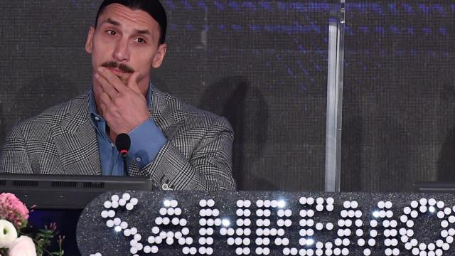Ibrahimovic parla del Festival di Sanremo: 'Sicuramente è più facile segnare gol'