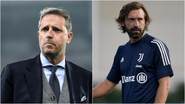 Juventus, ipotesi esonero Pirlo, Paratici: 'Credo fortemente nel tecnico bianconero'