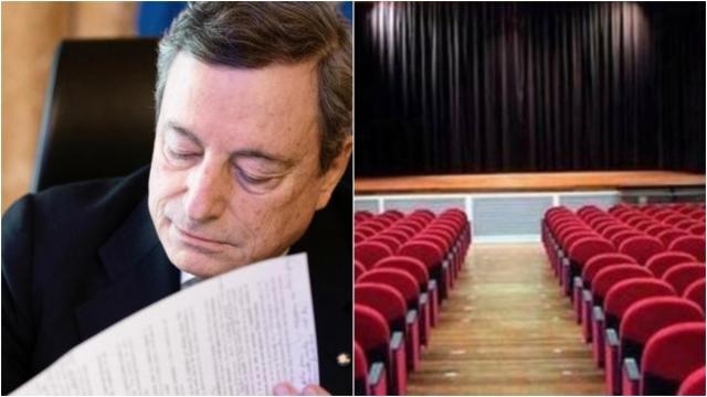 Nuovo Dpcm Draghi: Il Premier firma per la riapertura di cinema e teatri il 27 marzo