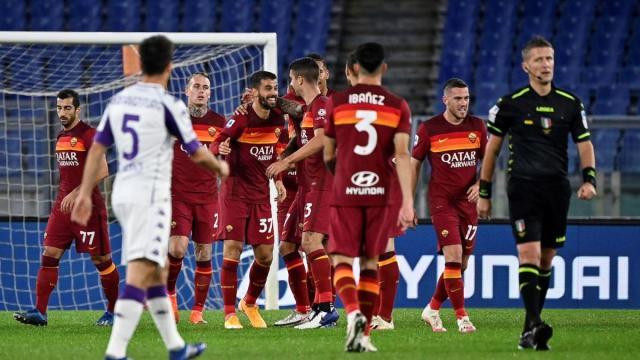 La Roma vince contro i viola grazie alla rete nel finale di Diawara