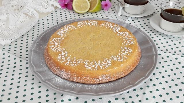 Ricetta caprese al limone versione light: dessert perfetto per ogni occasione