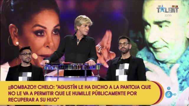 Isabel Pantoja expulsa a su hermano de Cantora