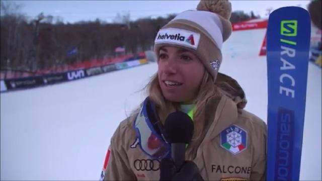 Sci, Marta Bassino vince la Coppa del Mondo di gigante