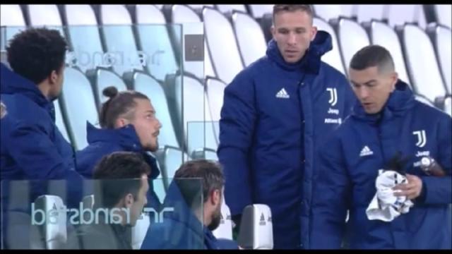 CR7 in panchina con la Lazio, Pirlo: 'Scelta condivisa in vista della Champions'