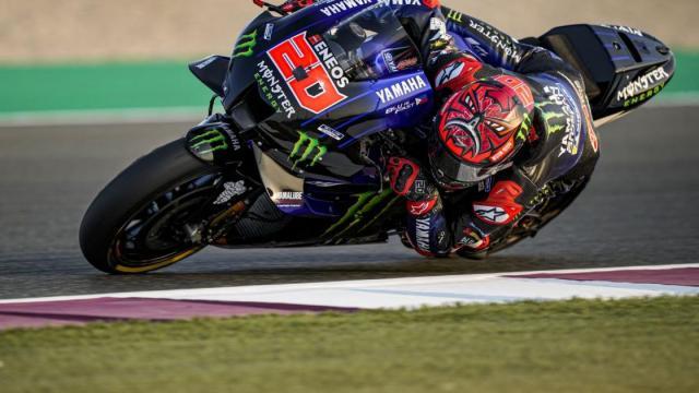 MotoGp a Doha, Quartararo precede al traguardo Zarco e Martin