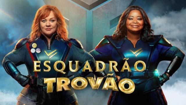 Netflix estreia a comédia 'Esquadrão Trovão'