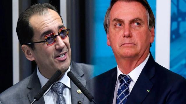 Em áudio com Kajuru, Bolsonaro diz que teria que 'sair na porrada' com Randolfe Rodrigues