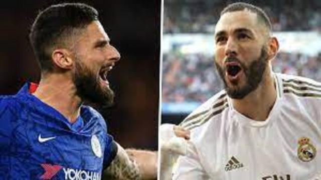 Ligue des champions : la Toile en effervescence pour les retrouvailles Giroud - Benzema