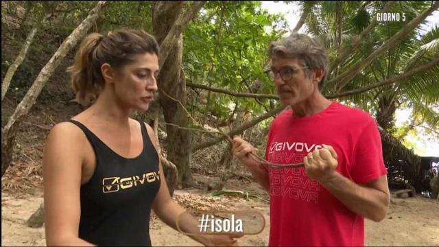 Isola: Elisa Isoardi e Brando Giorgi si ritirano dal reality show