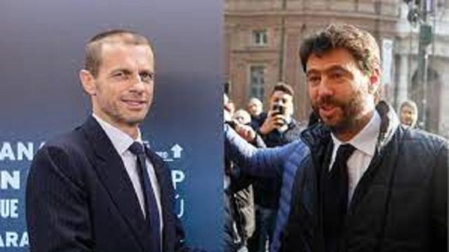 Aleksander Ceferin critique Andrea Agnelli au sujet de la Super League