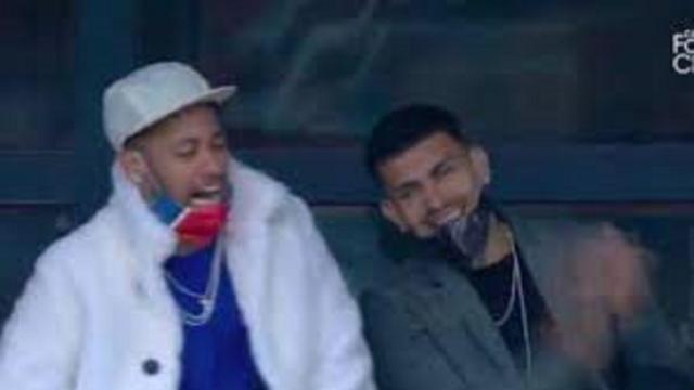 PSG - Saint-Etienne : Neymar explose de joie sur le but d'Icardi