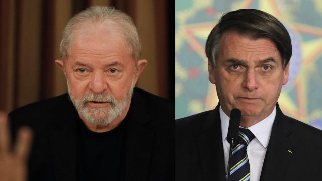 Bolsonaro volta a atacar Lula e compara membros de seu governo com os do petista