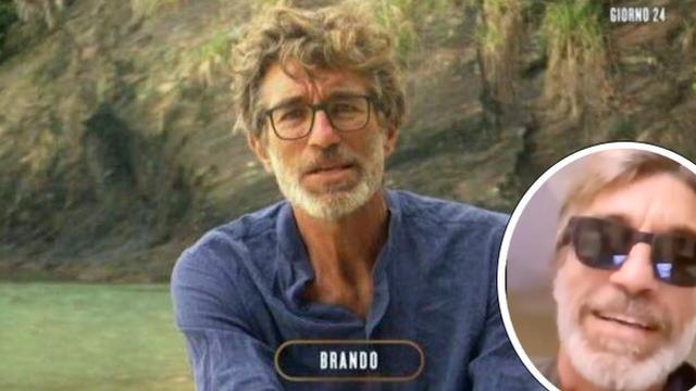 Isola dei Famosi: Brando dopo l'intervento all'occhio tranquillizza i suoi sostenitori