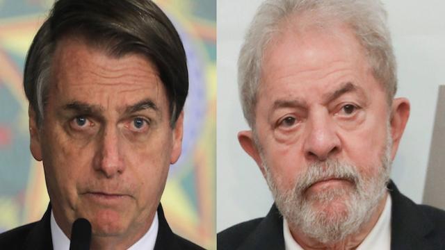 Pesquisa mostra que Lula venceria Bolsonaro em 2022 com ampla vantagem