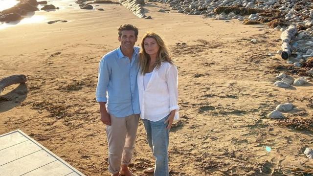 Grey's Anatomy anticipazioni USA: Meredith rivede Derek nella spiaggia dei sogni