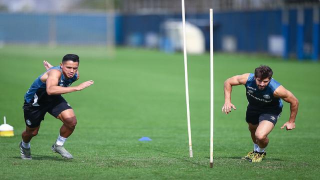Preparação física vira prioridade no Grêmio para o início do Brasileirão