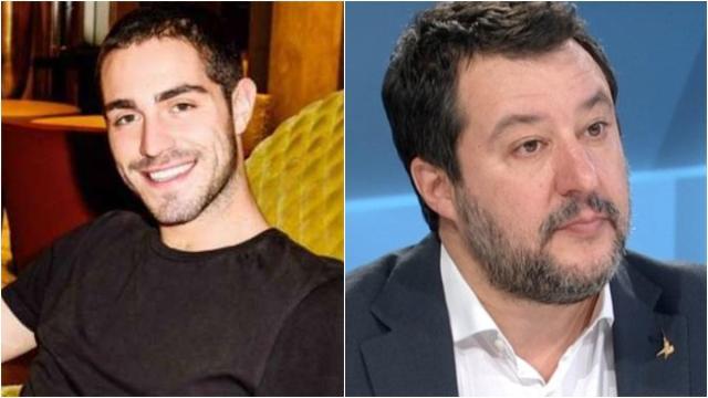 Scontro social tra Salvini e Zorzi, l'ex gieffino travolto da offese omofobe sul web