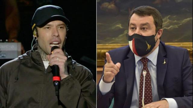 Fedez: i consensi ottenuti dopo il suo discorso, battono nettamente la replica di Salvini