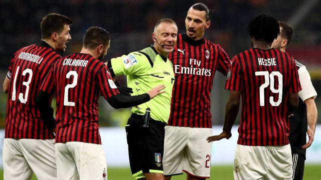 Milan-Juventus: la gara affidata all'arbitro Paolo Valeri