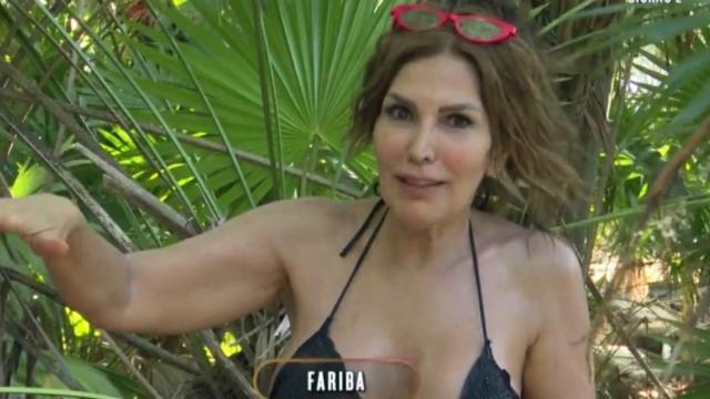 Isola dei Famosi, Fariba al televoto per provvedimento disciplinare