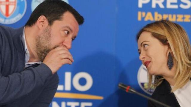 Salvini: 'L'alleanza con Fratelli d'Italia è il futuro del centrodestra'